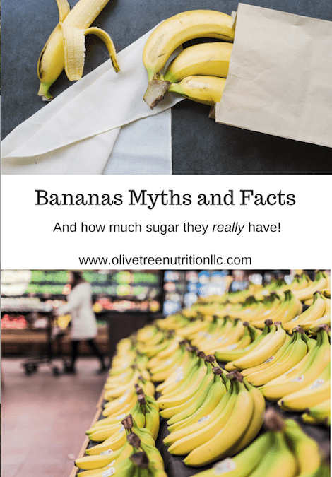 Bananas Myths and Facts…And How Much Sugar They REALLY Have!