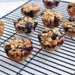 blueberry walnut oatmeal cups