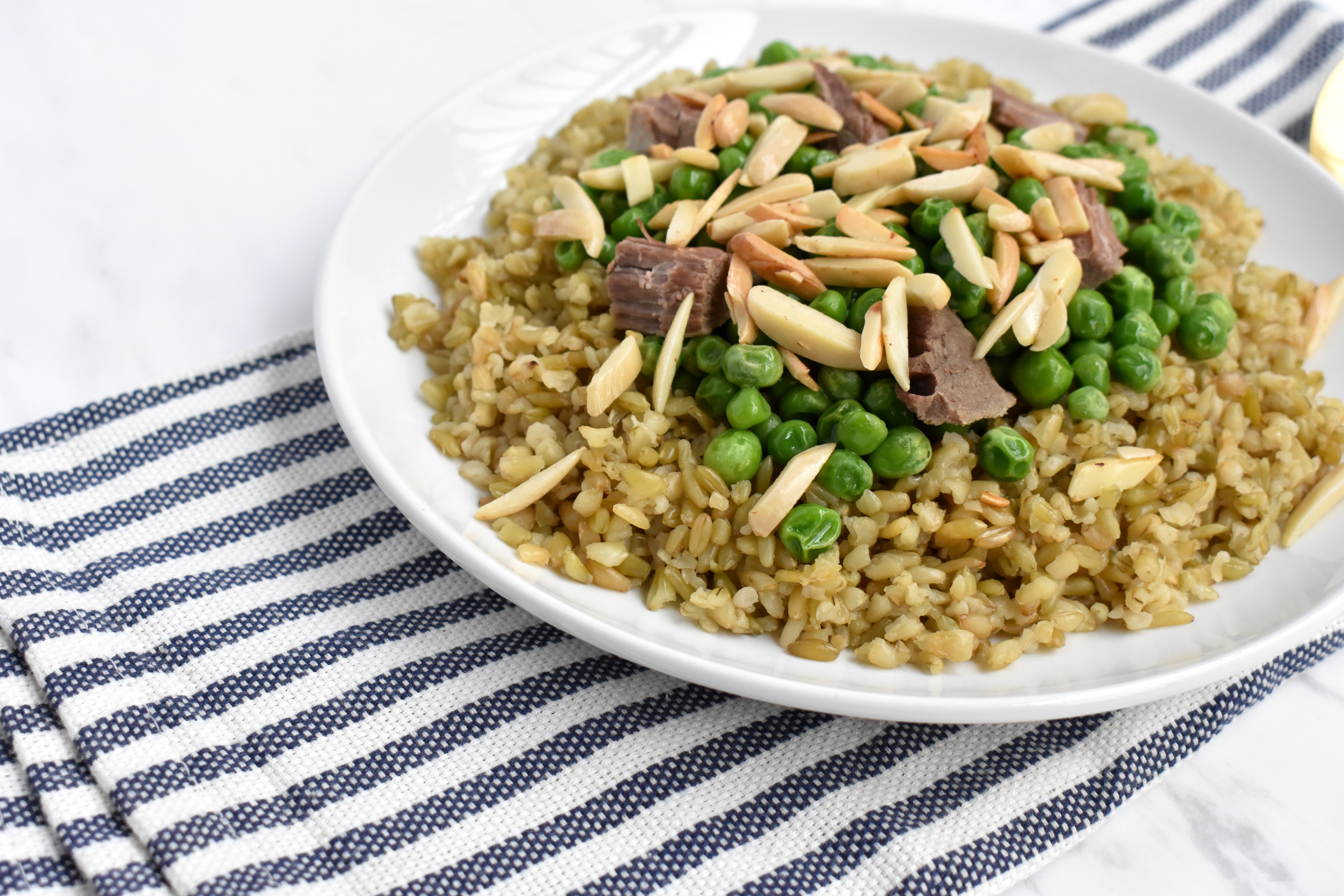 traditional syrian freekeh recipe