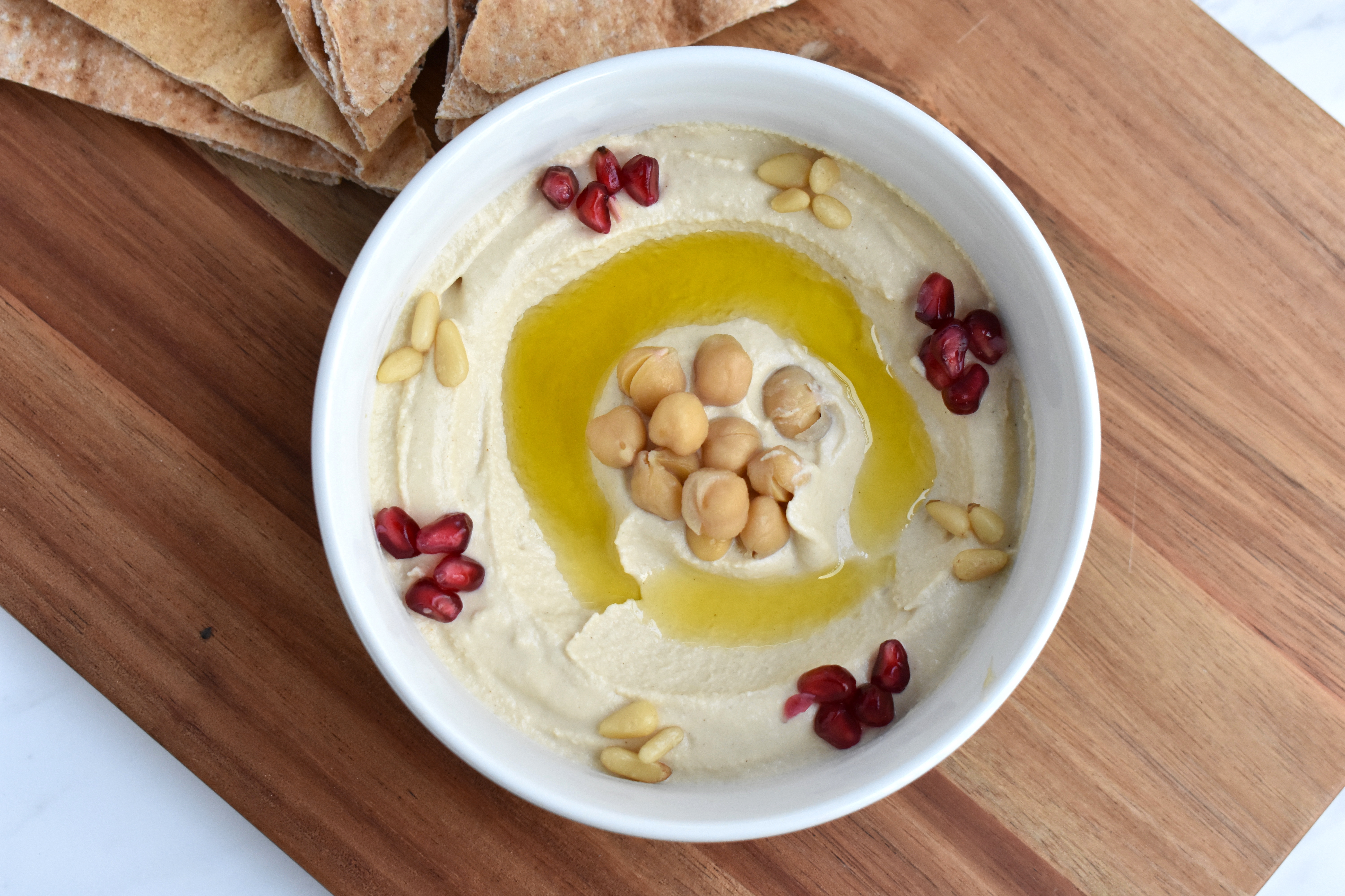 hummus bowl recipe