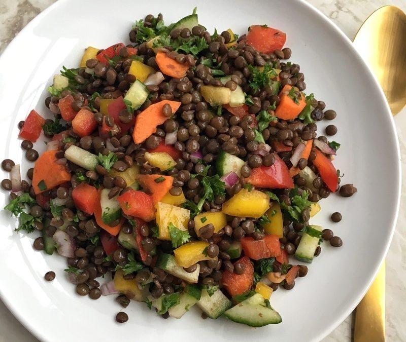 Power Lunch Lentil Salad
