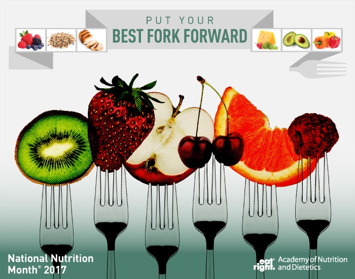 It's National Nutrition Month so Put Your Best Fork Forward!