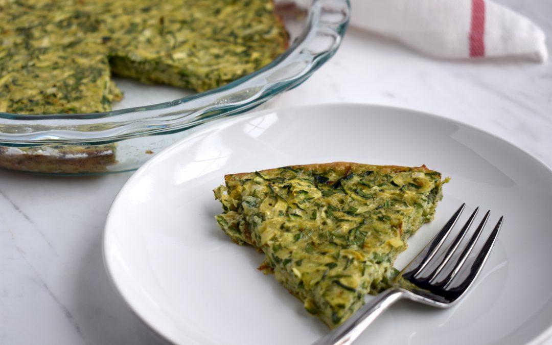 Mediterranean Zucchini Pie