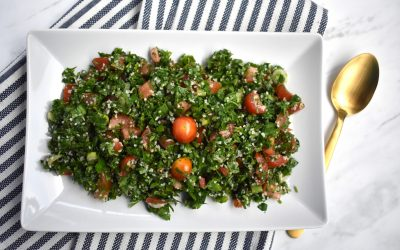 Authentic Tabbouleh Salad