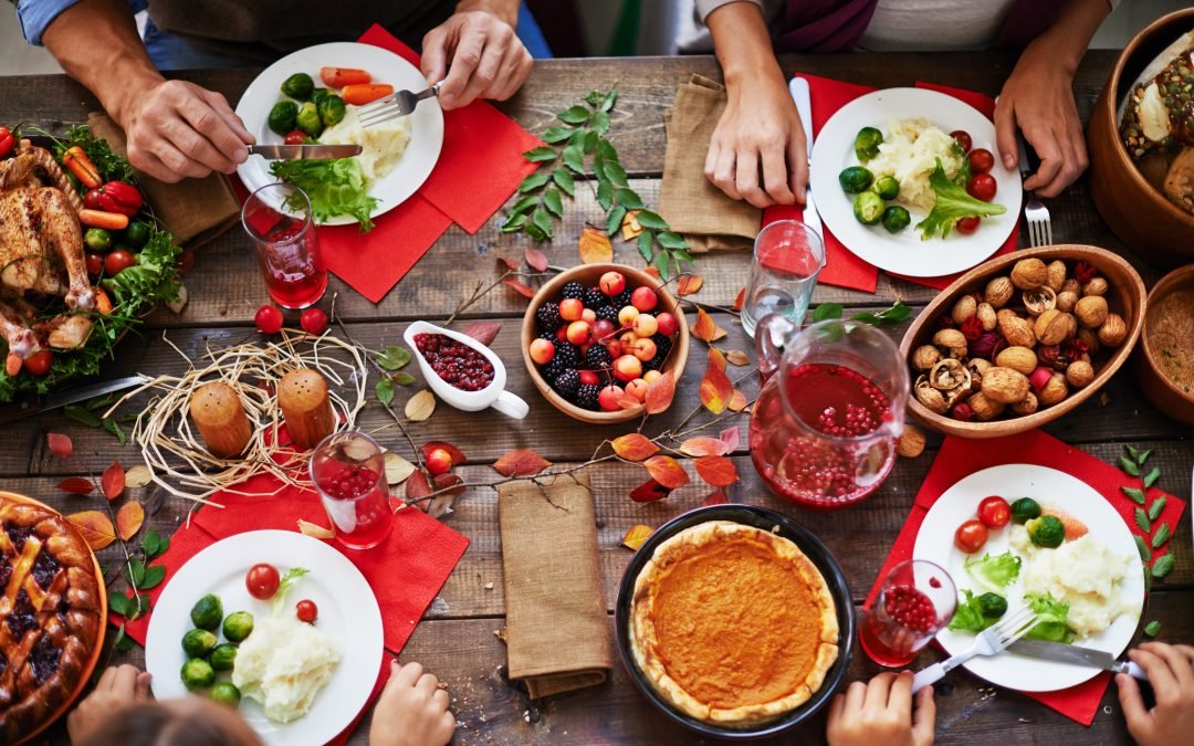 The 3 Tips you Need for a Healthy and Happy Thanksgiving and Holidays