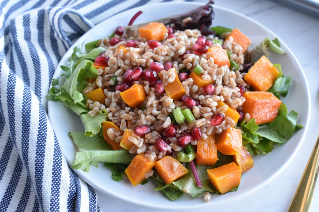 farro-salad-with-butternut-squash